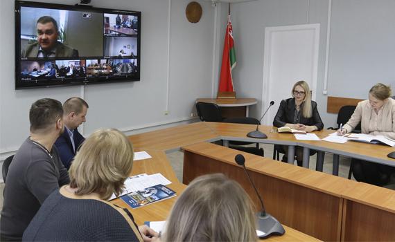 Онлайн-видеоконференций с по вопросам диверсификации рынков сбыта и порядка аттестации предприятий на право поставок сельхозпродукции и продуктов питания на рынки стран дальнего зарубежья
