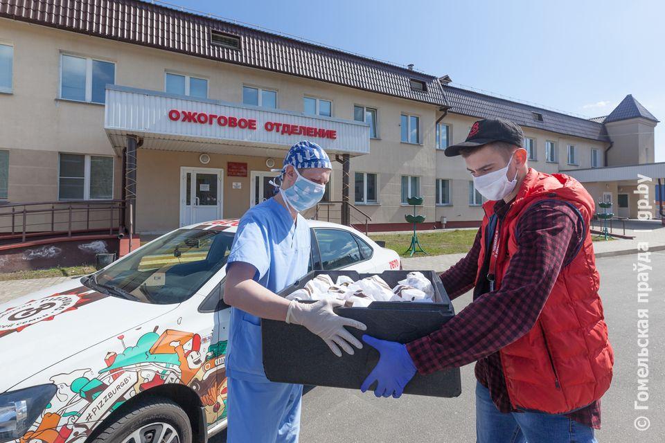 Помогаем медикам деньгами, масками, обедами — как белорусскому бизнесу не получить за это штраф