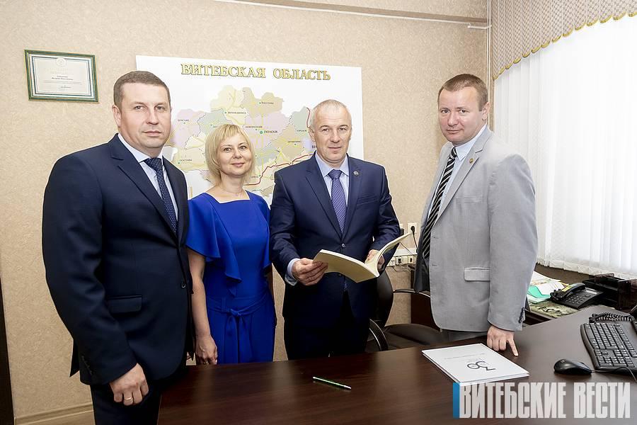 Начальник Витебской областной налоговой инспекции рассказал о новых формах и методах работы с плательщиками