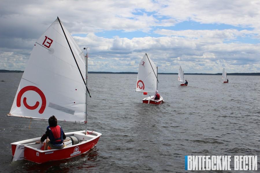 Доступный яхтинг, или Как на Браславщине развивается парусный спорт